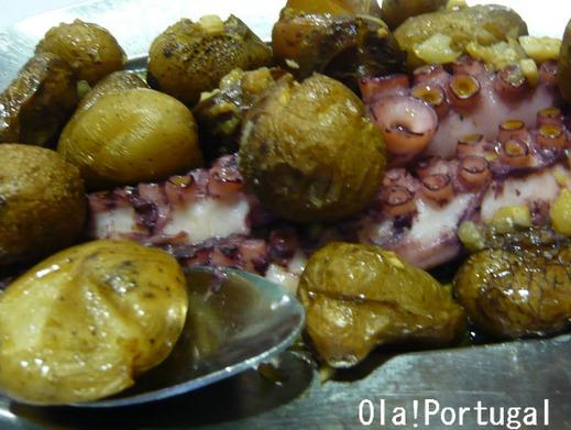 ポルトガル料理:Polvo Assadas ポルヴォ・アサーダス