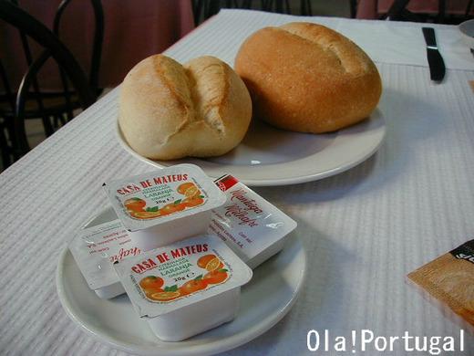 ポルトガル料理:Pao パン