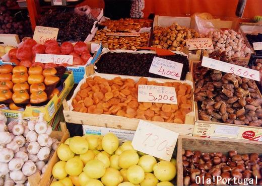 ポルトガルの市場(カルダス・ダ・ライーニャ)