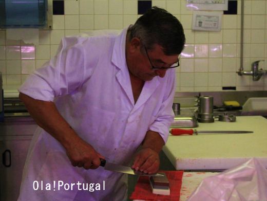 ポルトガルの職人:肉屋さん