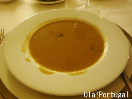 ポザーダ(クラト)の晩餐:ソッパ(スープ)