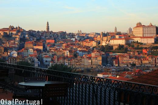 ポルトの夕焼け:Ola! Portugal与茂駄とれしゅ