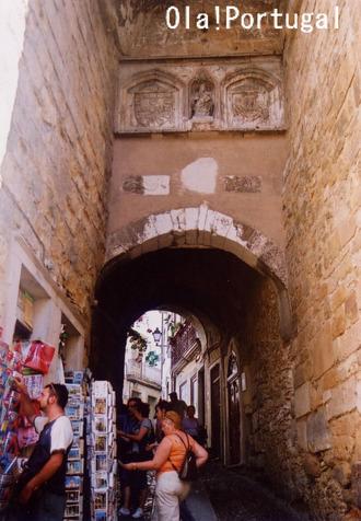コインブラ旧市街(アルメディーナ門)