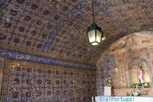 ポルトガルのアズレージョの礼拝堂(ラゴス)
