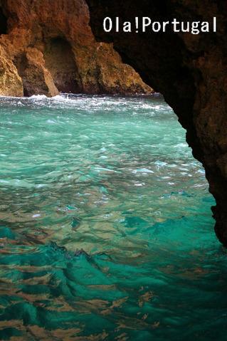 ポルトガルの青の洞穴(ラゴス)