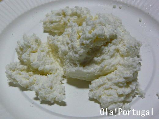 ポルトガルのフレッシュチーズ: リケイジャオン