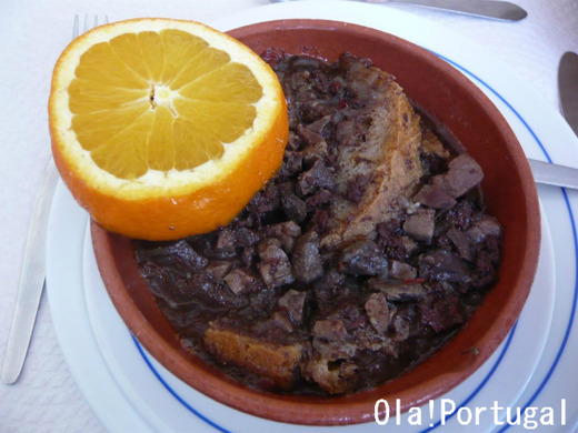 ポルトガル料理:Sopa de Sarapatel ソッパ・デ・サラパテル