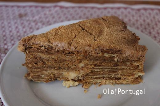ポルトガルのデザート:ボロ・デ・ボラシャ