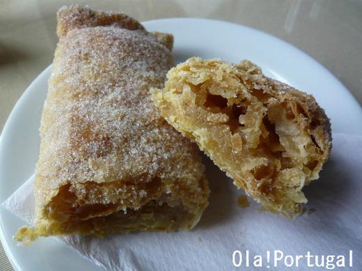 ポルトガルのお菓子:Traveseiro トラヴセイロ(シントラ)
