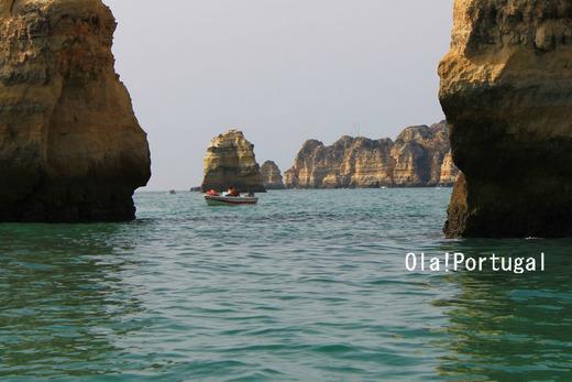 ポルトガル旅行記:Lagos ラゴス(ボートツアー)