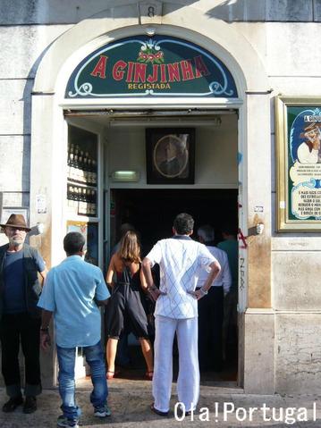 リスボンのお店(ジンジーニャ屋)