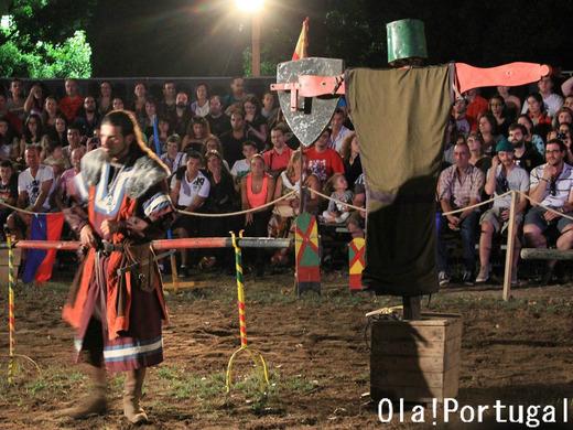 中世祭りの出し物:トルナード