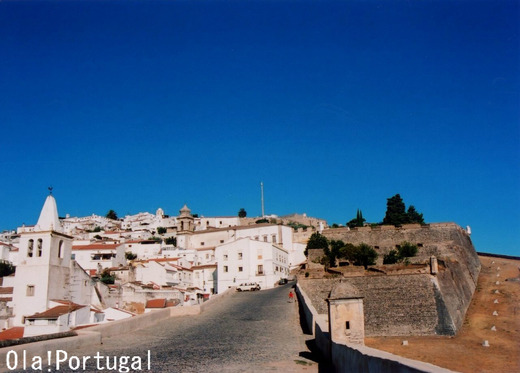 星形要塞都市:エルヴァス(ポルトガル)