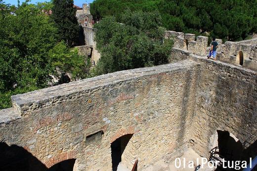 ポルトガル城跡巡り:サン・ジョルジェ城(リスボン)