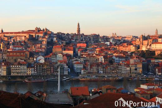ポルトガル旅行記:ポルトの夕焼け
