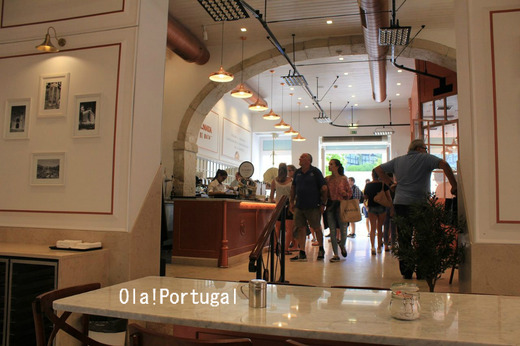 リスボンのカフェ:Fabrica de Pasteis de Nata