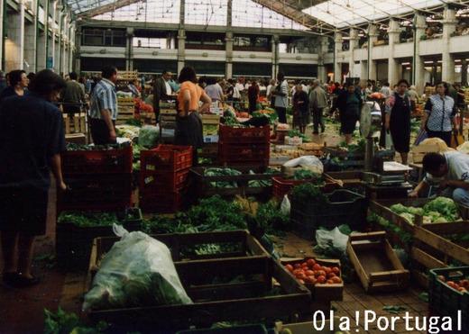 ポルトガルの市場(リスボン)