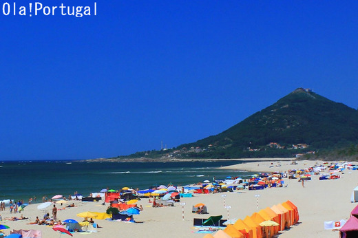 Praia do Moledo (Caminha,Portugal) モレード海岸