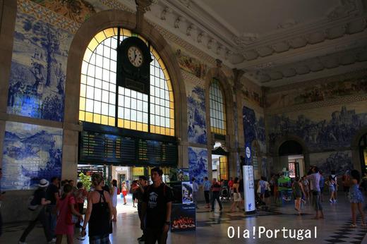 世界の美しい駅14選:サン・ベント駅(ポルトガル・ポルト)