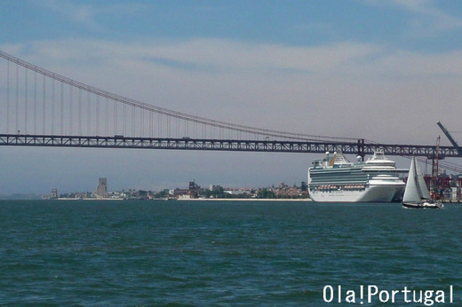 リスボン豪華客船の旅