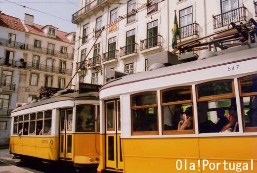 世界の路面電車(ポルトガル:リスボン)