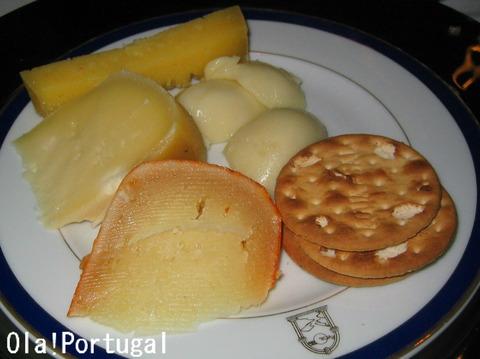 ポルトガルチーズ盛り合わせ