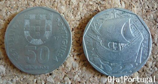 50エスクード硬貨(ポルトガル)