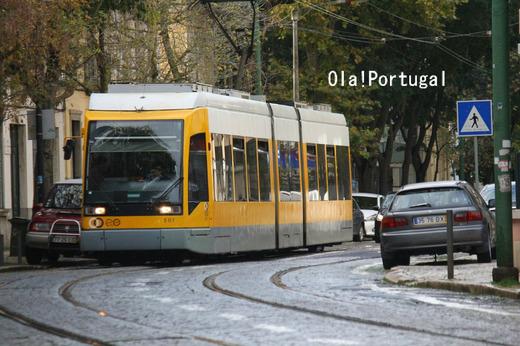 リスボン市電15番線に乗ってみた