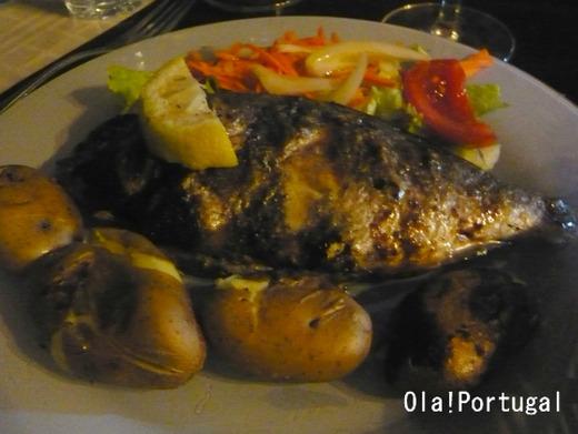 ポルトガル料理:Dourada grelhado