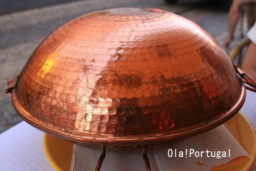 ポルトガルの伝統的な調理器具、鍋:Cataplana カタプラーナ鍋