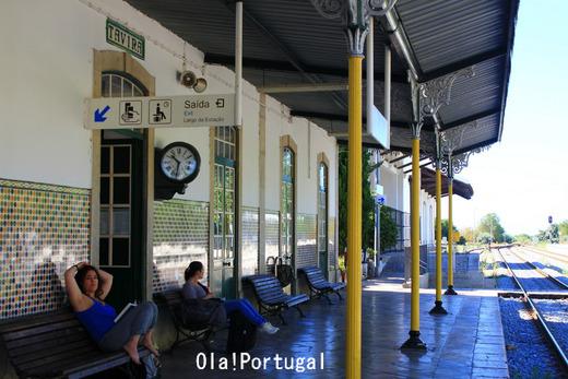 ポルトガル鉄道CPの旅:Tavira タヴィラ駅
