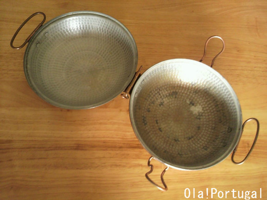 ポルトガルの伝統的な鍋:カタプラーナ