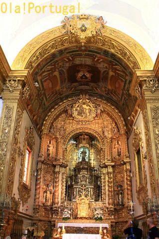 ポルトガル旅行記:人骨堂のあるカルモ教会(ファーロ)