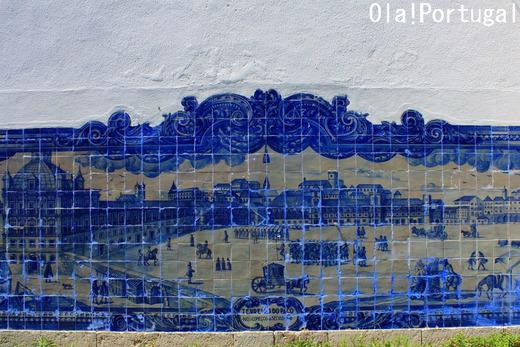 リスボンの景色が美しい展望台:サンタ・ルジア展望台