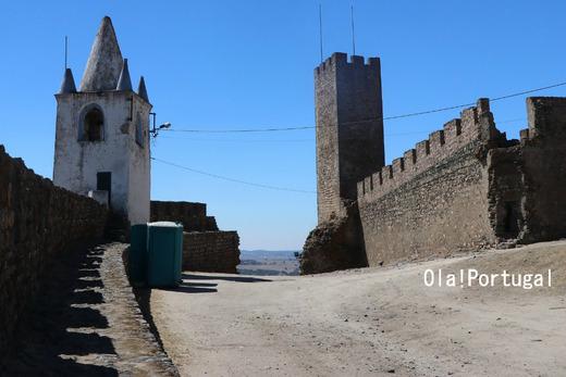 ポルトガル城跡巡り:Castelo de Arraiolos アライオロス城