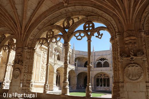 リスボン旅行記:ベレン地区(ジェロニモス修道院)