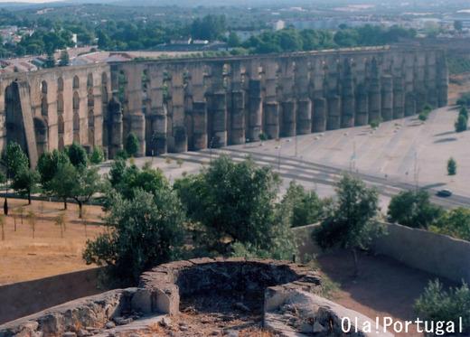 Aqueduto da Amoreira (Elvas Portugal)