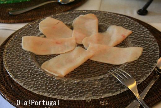 ポルトガルの朝食:Fiambre de Peru (七面鳥のハム)