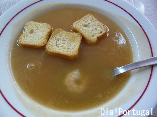 ポルトガル料理:Sopa de Marisco ソッパ・デ・マリシュコ
