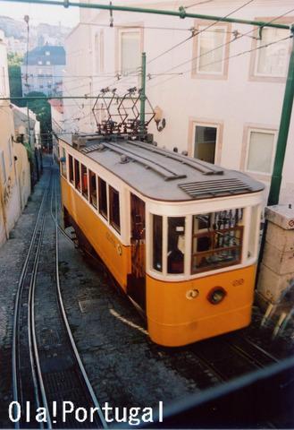 リスボンのエーブルカー:ラヴラ線、グロリア線、ビッカ線