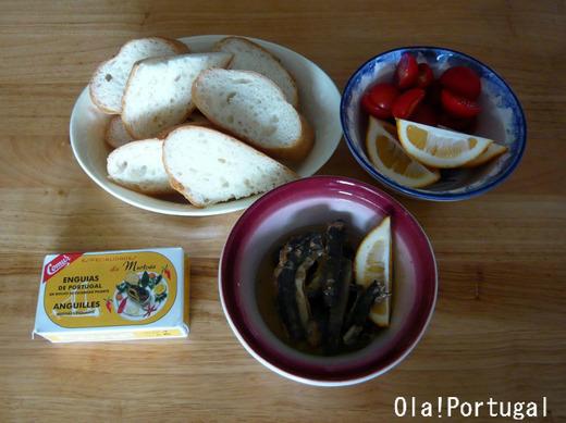 ポルトガル土産のウナギの缶詰を使ったレシピ