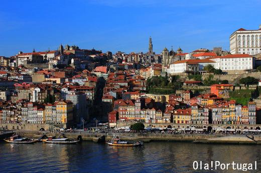 ユネスコ世界遺産:ポルト歴史地区の街並み