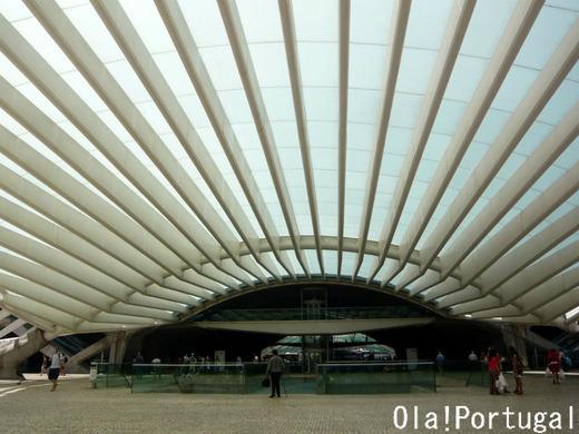 ポルトガルの車窓から:リスボン・オリエンテ駅