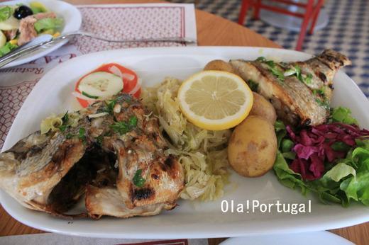 ポルトガル料理:Dourada Grelhado ドウラーダ・グレリャード