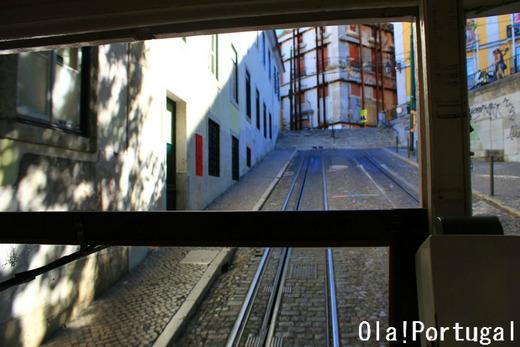 リスボンのケーブルカー:ビッカ線、グロリア線、ラヴラ線
