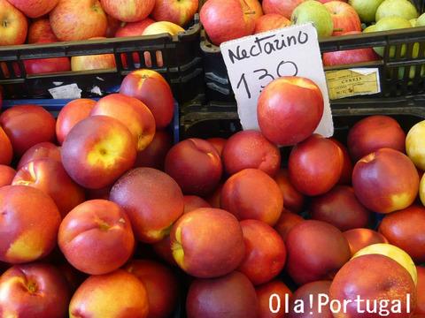 ポルトガルの果物:Nectarino ネクタリーニョ(ネクタリン)