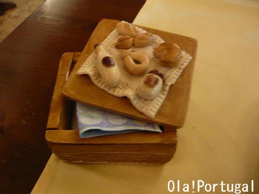 ポルトガルのレストラン:会計はこちら