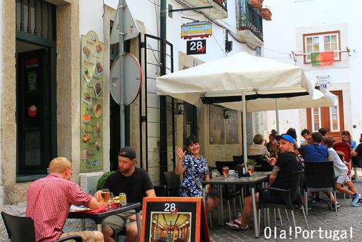 リスボンの新しいカフェ:28 cafe
