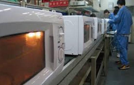 中国の家電工場