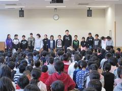 1126 児童集会(給食) (1)